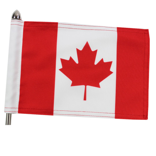 "Super Tough Canada Parade Motorcycle Flag - 10"" x 15"""
