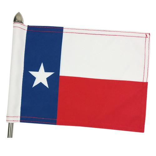 """Super Tough Texas Parade Motorcycle Flag - 10"""" x 15"""""""