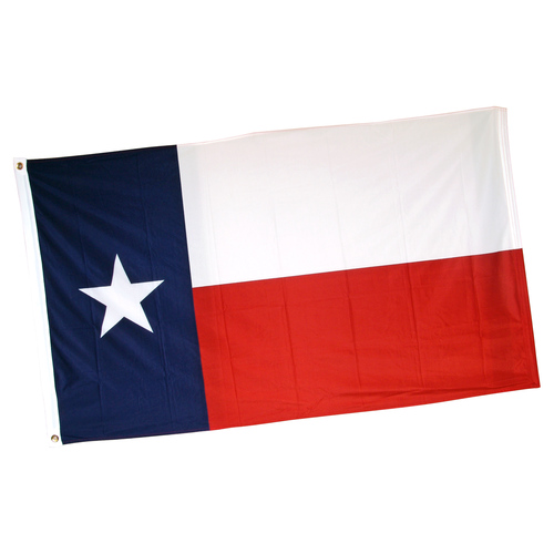 Texas 3ft x 5ft Printed Super Knit Polyester Flag