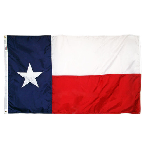 Texas Flag 5 x 8 Feet Nylon