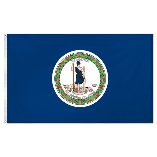 Virginia Old Dominion 3ft x 5ft Super Knit Polyester Flag