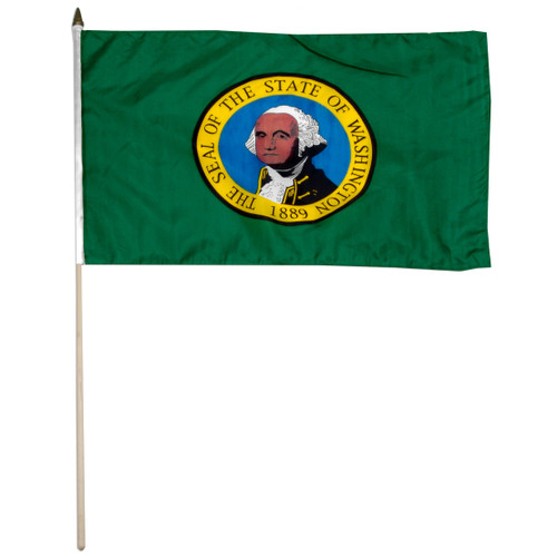 Washington flag 12 x 18 inch