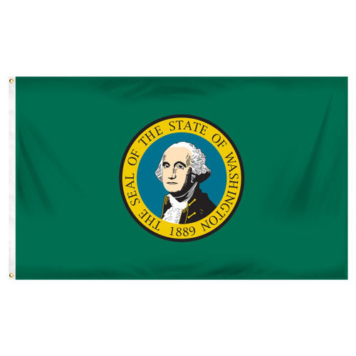Washington 3ft x 5ft Printed Polyester Flag