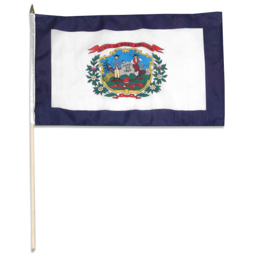 West Virginia flag 12 x 18 inch