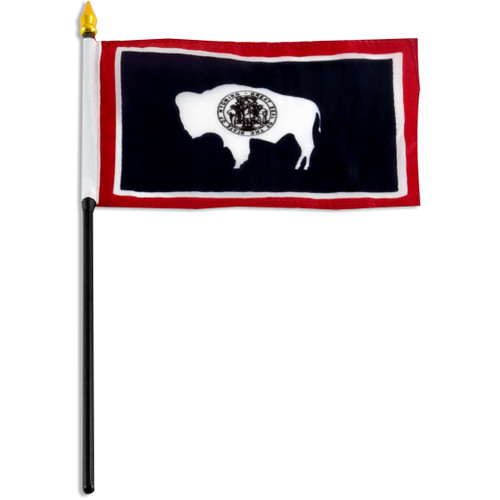 Wyoming flag 4 x 6 inch