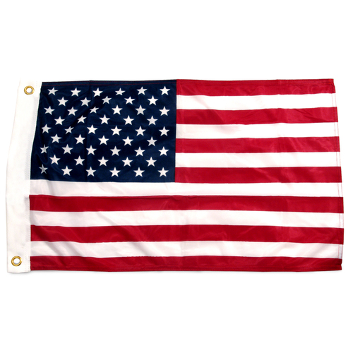 16in x 24in Printed Nylon US Flag