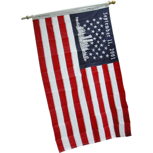 USA 9-11 Sewn Nylon flag  3 ft.  x 5 ft.