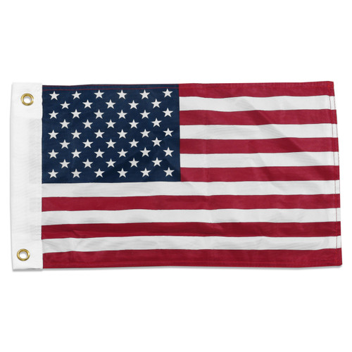 US Flag 12 x 18in Super Knit Polyester Double Sided