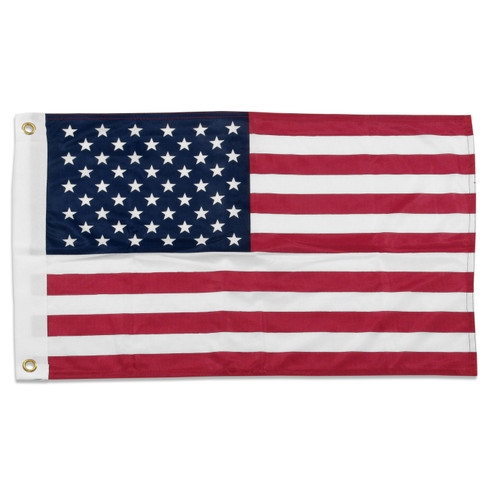US Flag 16in x 24in Super Knit Polyester
