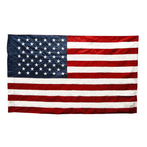 US Flag Banner Type 3ft x 5ft Nylon (Imported)
