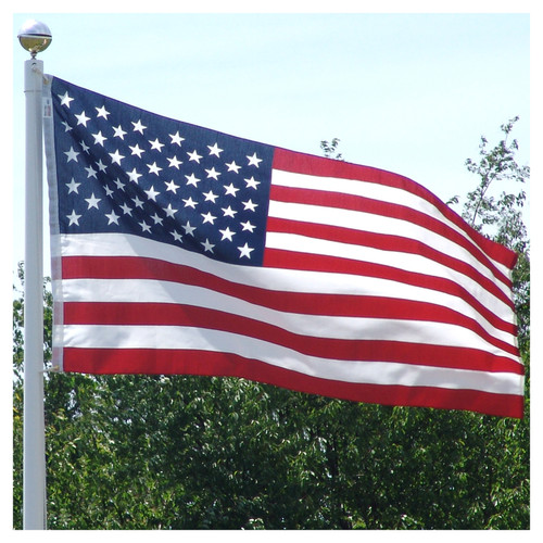 3ft x 5ft USA Printed Polyester Cotton Flag Made by Valley Forge