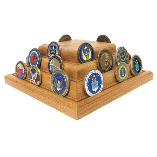 Challenge Coin Case - Pyramid