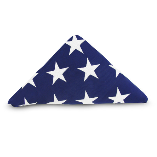 Online Stores, Inc. 5ft x 9.5ft Cotton American Memorial Flag