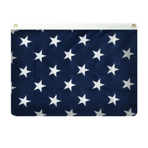 American Flag 8' x 12' Valley Forge Koralex II Sewn Polyester -Top Header
