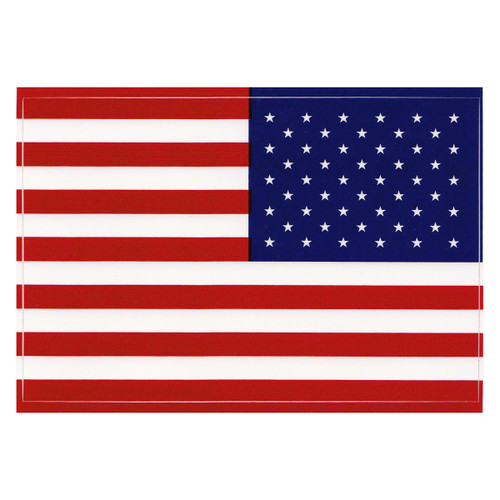 American Flag Vinyl Decal (Right Hand Version)
