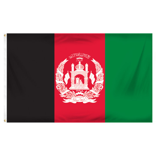 Afghanistan 3ft x 5ft Printed Polyester Flag