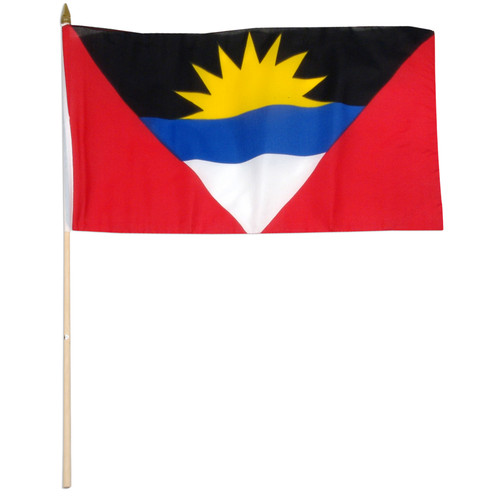 Antigua and Barbuda 12 x 18 Inch Flag
