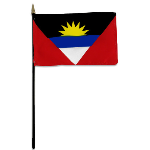 Antigua & Barbuda flag 4 x 6 inch