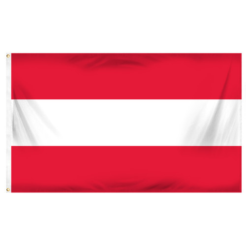 Austria 3ft x 5ft Printed Polyester Flag