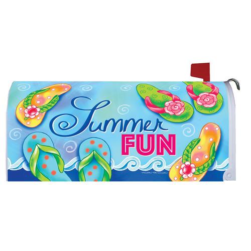 Summer Mailbox Cover - Summer Fun