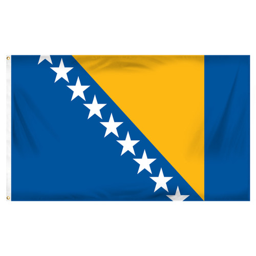 Bosnia 3ft x 5ft Printed Polyester Flag
