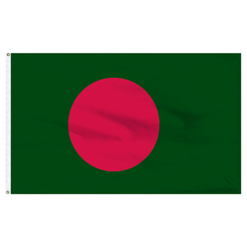 Bangladesh Flag 5ft x 8ft Nylon