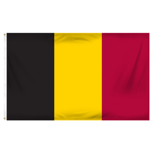 Belgium 3ft x 5ft Printed Polyester Flag