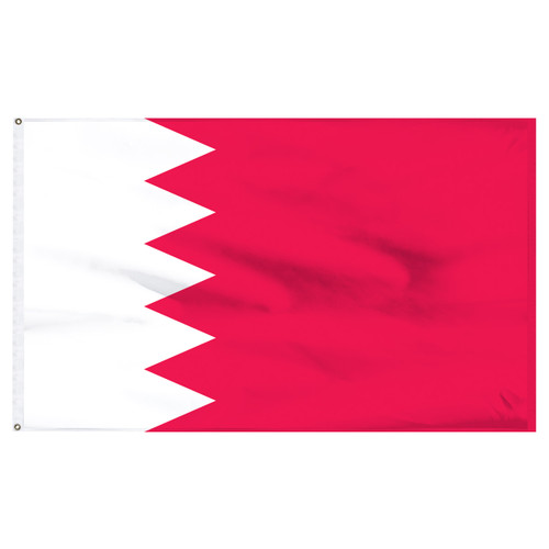 Bahrain 4ft x 6ft Nylon Flag