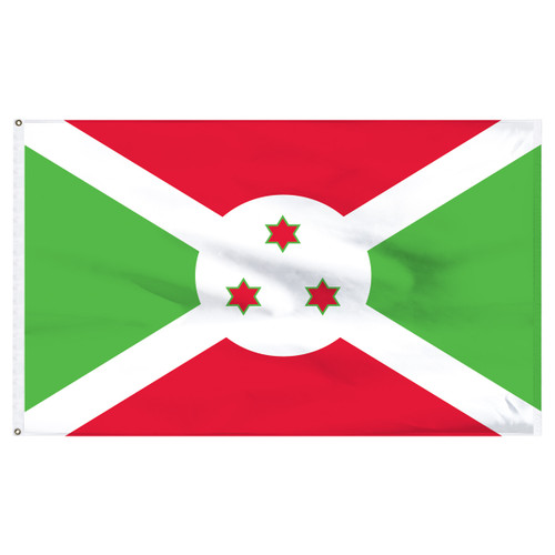 Burundi 4ft x 6ft Nylon Flag