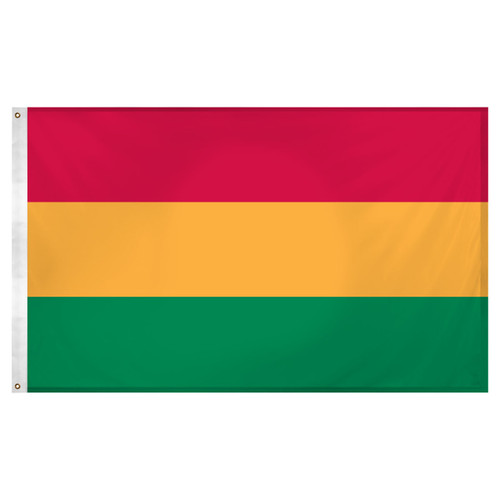 Bolivia 3ft x 5ft Super Knit Polyester Flag - No Seal
