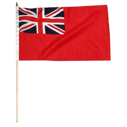 British Red Ensign 12 x 18 Inch Flag