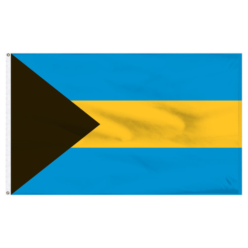 Bahamas Flag 5ft x 8ft Nylon