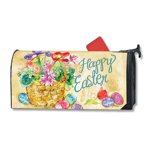 Magnetic Mailbox Cover - Easter Beauty