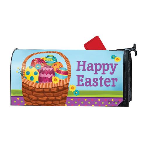 Magnetic Mailbox Cover - Basket Full of Eggs