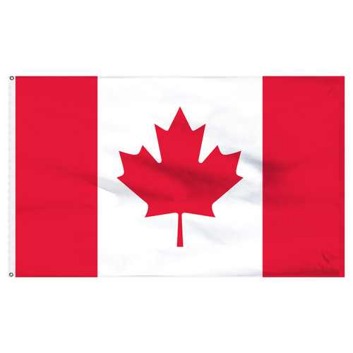 Canada 5ft x 8ft Nylon Flag