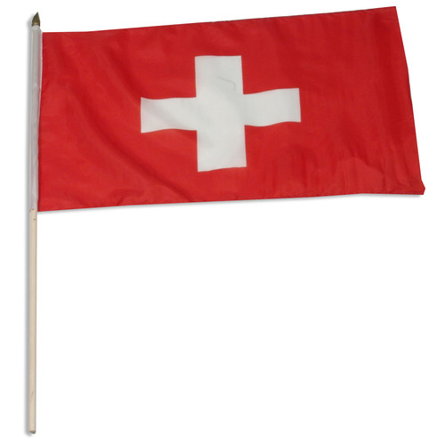 Switzerland flag 12 x 18 inch