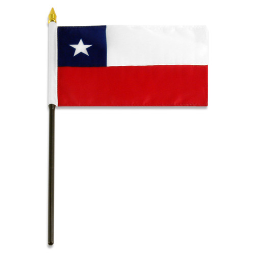 Chile flag 4 x 6 inch