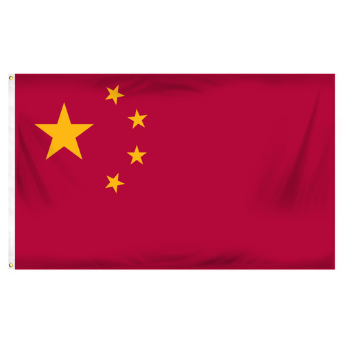 China 3ft x 5ft Printed Polyester Flag