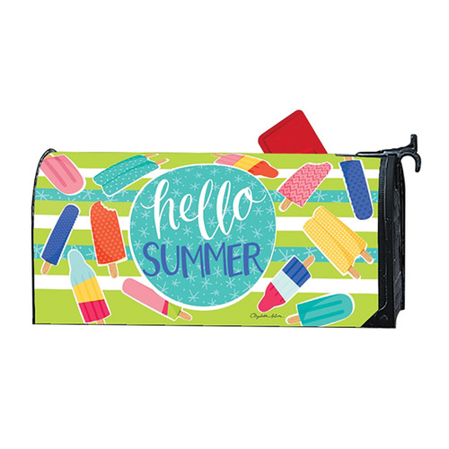Summer Mailbox Cover - Ice Cream & Popsicles