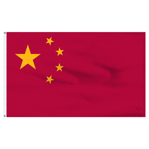 China  5ft x 8ft Nylon Flag