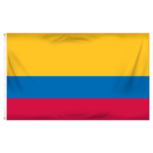Colombia 3ft x 5ft Printed Polyester Flag