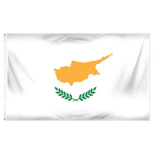 Cyprus 3ft x 5ft Printed Polyester Flag