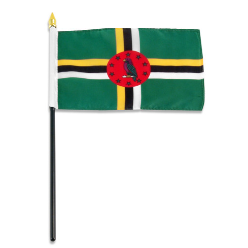 Dominica flag 4 x 6 inch