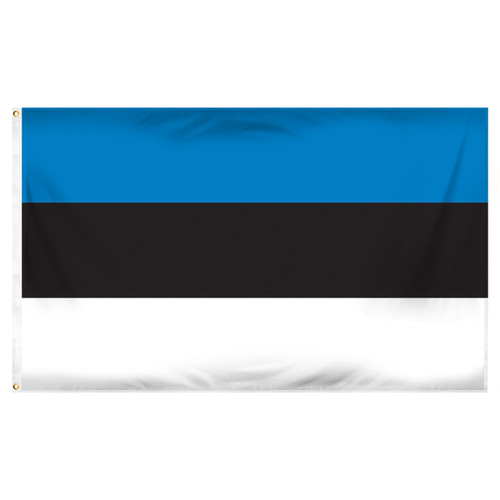 Estonia 3ft x 5ft polyester flag