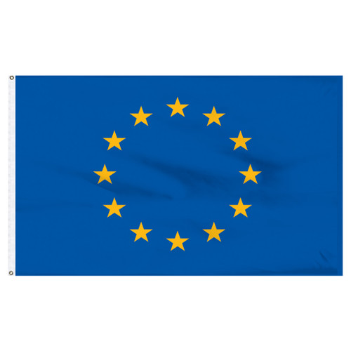European Union Flag 5ft x 8ft Nylon
