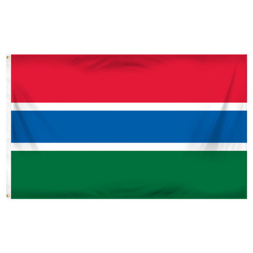 Gambia 3ft x 5ft Printed Polyester