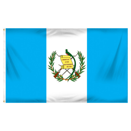 Guatemala 3ft x 5ft Printed Polyester Flag