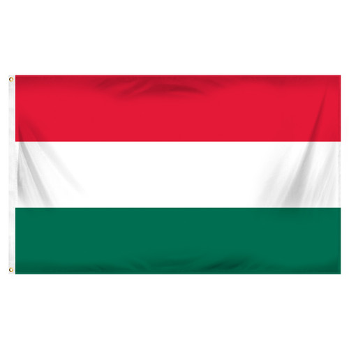 Hungary 3ft x 5ft Printed Polyester Flag