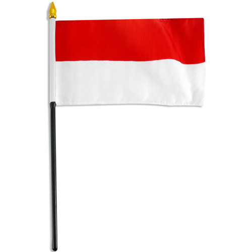 Indonesia 4in X 6in Polyester Flag