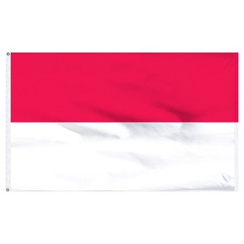 Indonesia 5ft x 8ft Nylon Flag
